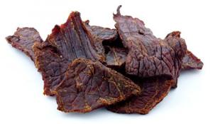 beef jerky, vagyis szárított marhahús
